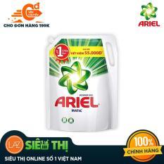 Nước giặt Ariel Matic Base gel đậm đặc 2.4kg (Dạng túi spartan)
