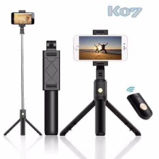 Gậy Chụp Ảnh Tự Sướng Bluetooth kiêm 3 Chân Đa Năng Live Stream Chụp Ảnh Gia Đình – Chụp Hình Selfie