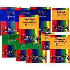 Sách- Disney world of English – 12 cuốn + MP3- Ảnh thật