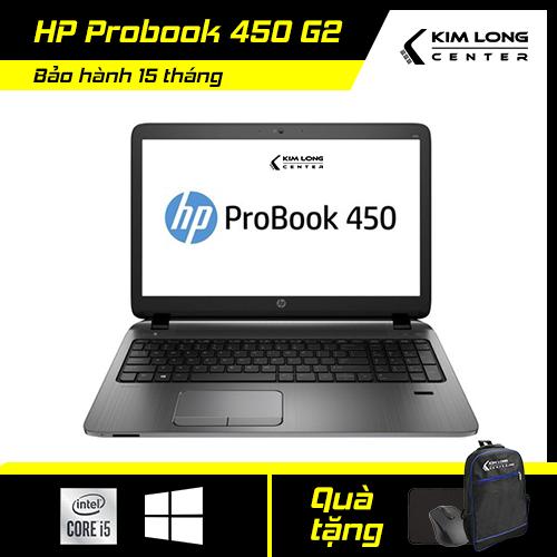 [GIẢM NGAY 500K][BẢO HÀNH 15 THÁNG] Laptop giá rẻ HP Probook 450 G2 : i5-5200U   8GB RAM   120GB SSD   HD Graphics 5500   15.6 HD   Weight 2.4KG   Windows 10 Pro   Black   Keyboard Japan