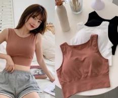 Áo bra cotton croptop siêu đẹp mẫu mới