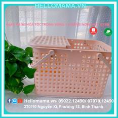 Giỏ/Làn nhựa giỏ nhựa đựng đồ đi sinh Inochi – Tiện lợi an toàn cho mẹ