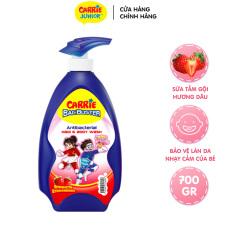 [GIFT] Sữa Tắm Gội Sạch Khuẩn Carrie Junior BacBuster Hương Strawberry 700G