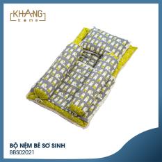 Bộ Nệm Bé Sơ Sinh Khang Home BBS02
