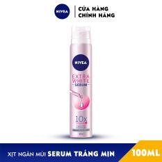 Xịt Ngăn Mùi NIVEA Serum Trắng Mịn (100ml) – 80020