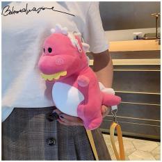 Túi đeo chéo hình thú bông khủng long – DMA store