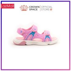 Dép Quai Hậu Bé Gái Đi Học Chính Hãng Crown Space UK Sandals Trẻ em Xăng Đan Cho Bé Gái Từ 2 đến 14 Tuổi Size 25-35 Chất Liệu Cao Cấp Nhẹ Êm Thoáng Mát An Toàn Cho Bé CRUK541