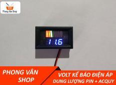 Vôn kế báo điện áp và dung lượng pin + Acquy – Volt kế 0.56 inch