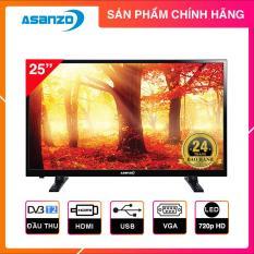 Tivi Led Asanzo 25 inch HD – Model 25T350 (Đen) Tích hợp DVB-T2