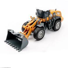 Xe đồ chơi, mô hình xe xúc đất cho bé chất liệu nhựa an toàn, tỉ lệ lớn