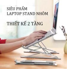 Giá đỡ, kệ đỡ laptop, bằng nhôm đúc chắc chắn 2 thanh X thông minh gấp gọn – Bàn laptop giúp tản nhiệt gấp gọn thông minh điều chỉnh kích thước làm bằng nhôm đúc cao cấp chịu lực cực tốt