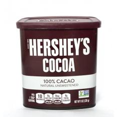 Bột Cacao/ Socola Hershey's Cocoa 100% Cacao 226g (Hộp)