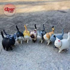 Bộ 9 mô hình Mèo Munchkin