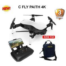 Flycam C – FLY PAITH 4K ( C Fly Paith 4K ), Gimbal 3 Trục, Gấp Gọn, Cảm Biến Bụng ( flycam, cfly dream, sjrc f11, hubsan zino )