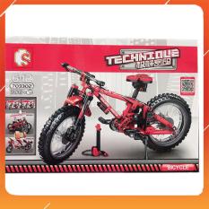 Đồ Chơi Noel – Mô Hình Lắp Ráp Xe Đạp 703302 – Đồ Chơi Trẻ Em Toy Mart