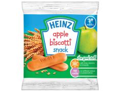 Bánh ăn dặm Heinz – Bánh quy ăn dặm vị Táo cho bé 7 tháng tuổi. Date 2021