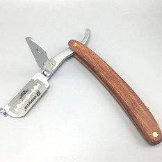 Dao cạo lông mặt cán gỗ