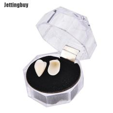 Jettingbuy Bloodcurdling Vampire Werewolves Fangs Fake Dentures Teeth Costume Halloween