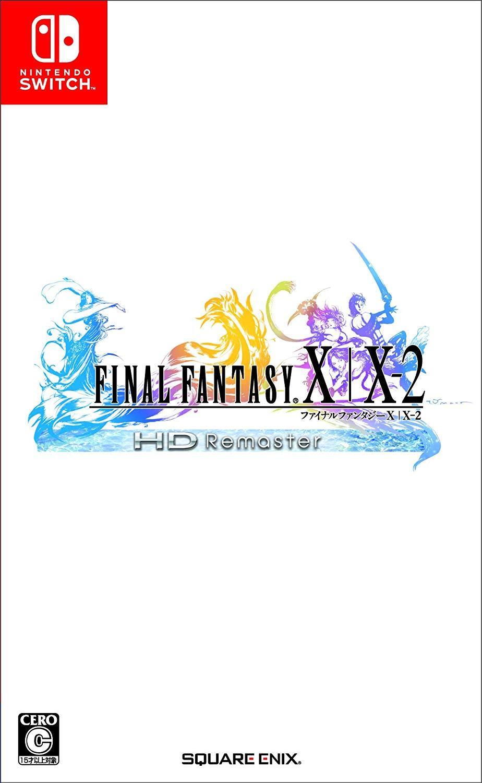 Đĩa game Nintendo Switch : Final Fantasy X - X2 HD Remaster