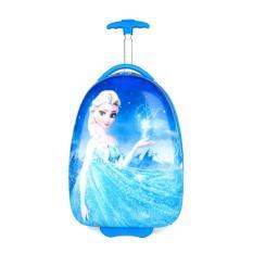 Vali kéo du lịch trẻ em Kabid hình Nữ hoàng băng giá Elsa ( Xanh dương)