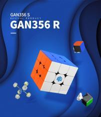 Đồ Chơi Rubik Gan 356R Cao Cấp – Dùng thi đấu Quốc Tế ( Quay nhanh, mượt, bẻ góc cực tốt)