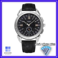 Đồng hồ nam YAZOLE 419 dây da cao cấp Fullbox Ah485 (tặng kèm pin)