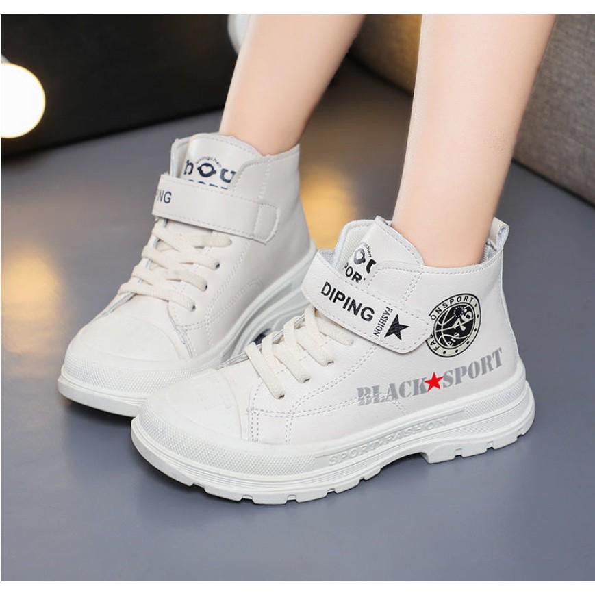 Giày Bốt phong cách Hàn Quốc cho bé trai và bé gái hàng Quảng Châu cao cấp