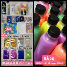 Bộ Kit Bắt Đầu Làm Slime – bán lẻ từng món