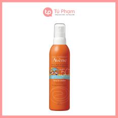 Xịt Chống Nắng Cho Bé Avene Spray For Children SPF 50+ 200ml