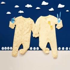 Body liền quần cho bé trai, gái LULABY cao cấp mặc thu đông (0-12 tháng)