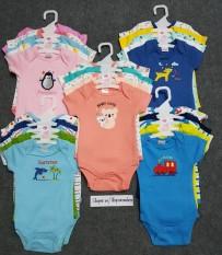 Set 5 body chip bodysuit cho bé trai và bé gái sơ sinh từ 0-8kg sản phẩm tốt với chất lượng độ bền cao và được cam kết sản phẩm y như hình