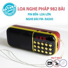 Máy nghe giảng Pháp kinh phật loa nghe tụng kinh niệm phật dành cho người cao tuổi tặng thẻ nhớ 8GB có sẵn các bài giảng Pháp