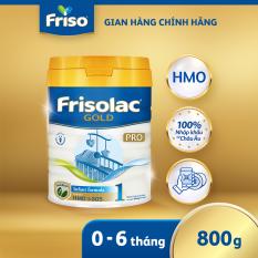 [Nhập khẩu Hà Lan] Sữa Frisolac Gold Pro 1 800g – cho trẻ 0-6 tháng