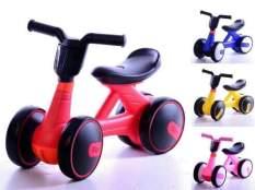 Xe đạp chòi chân, xe chòi chân miini xe thăng bằng 4 bánh cho bé có đèn nhạc mẫu mới