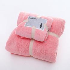 Set 2 Khăn tắm 34×75+70×140,siêu thấm chất liệu 100 cotton 120g+450g -143