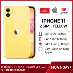 Điện thoại Apple iPhone 11 2Sim 128GB, Hàng Nhập Khẩu CH/A, Nguyên Seal, Chưa Kích Hoạt, Bảo Hành 12 Tháng
