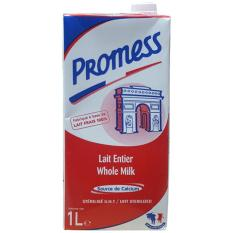 Sữa tươi nguyên kem tiệt trùng Promess hộp 1 lít