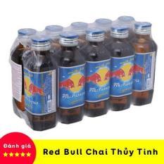 【Giảm Giá】Lốc 10 Chai Nước Tăng Lực Bò Húc Red Bull Thái Lan