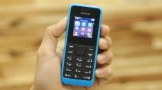 Điện thoại nokia 105 fullbox – Tặng kèm pin và bộ sạc hãng ( mầu xanh )
