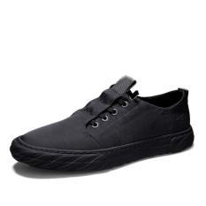 Giày lười nam siêu đẹp, cá tính – Giày mọi nam giả dây buộc phong cách Hàn Quốc trẻ trung + Tặng kèm tất cotton