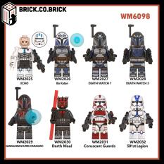 WM6098 – Đồ chơi lắp ráp mô hình minifigure lính non lego Star Wars- Chiến tranh giữa các vì sao- Trooper, Paz Vizla