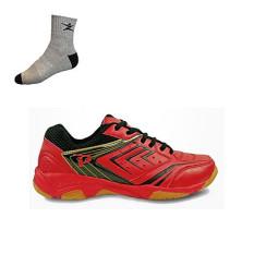 Chia sẻ: 0 giày cầu lông bóng chuyền promax, được làm từ vải và da nhân tạo hạn chế trầy xước và sờn cũ, cùng lớp lót mềm thoáng khí
