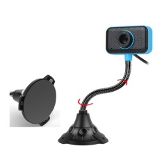 Webcam máy tính ,webcam dùng học online ,webcam chân cao có mic -Màu Xanh