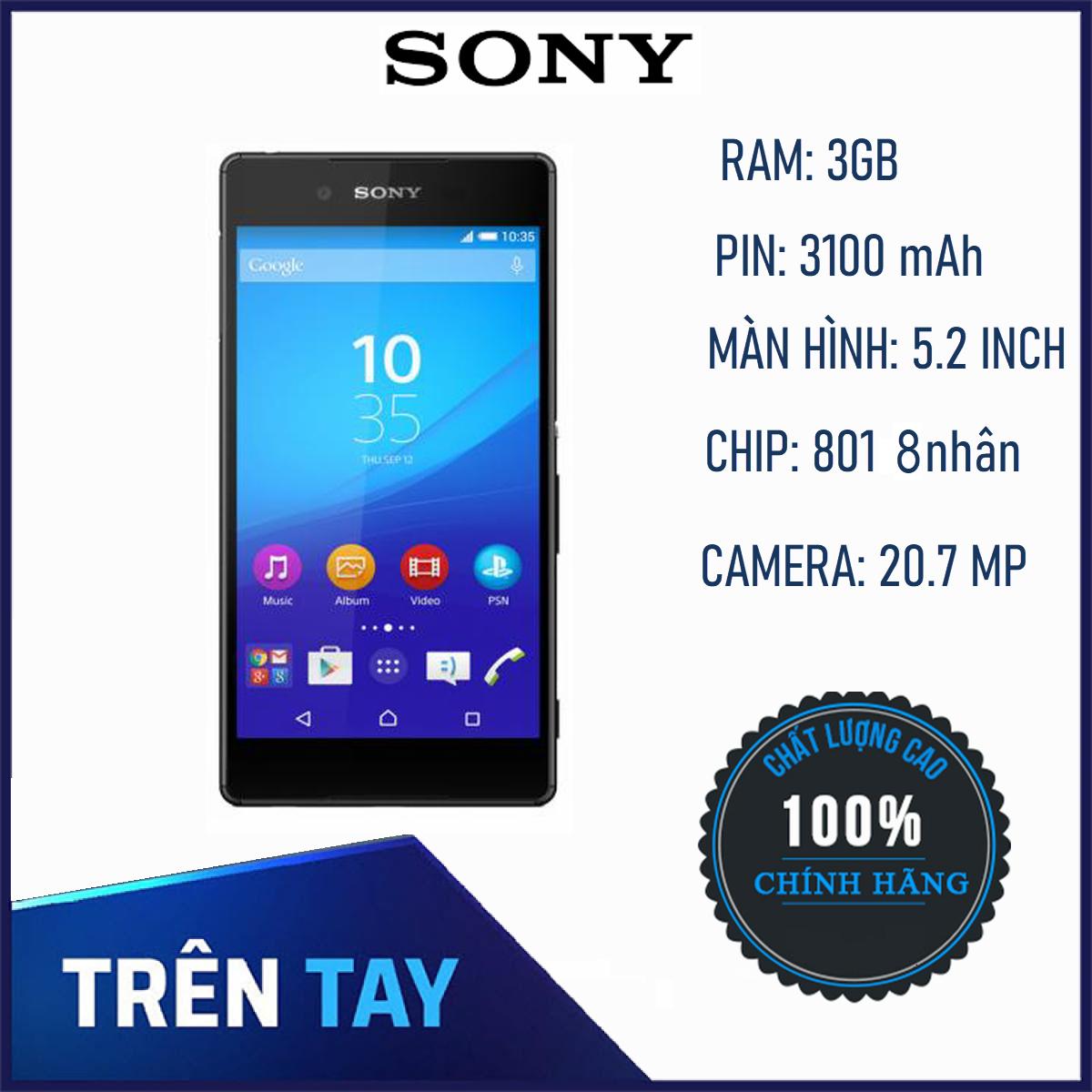[Hàng Mới Về] Điện Thoại Smartphone Sony Xperia Z4 ram 3G/32G – Hãng Phân Phối Chính Thức