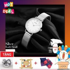 Đồng hồ nữ dây thép lưới siêu mỏng 6mm SKMEI OT118-2G (Tặng box và pin đồng hồ)