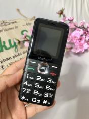 Điện Thoại Masstel Fami 1 Điện Thoại cho người cao tuổi 2 Sim Chữ Siêu To nghe FM ko dây Bảo hành 12 tháng – Hàng chính hãng