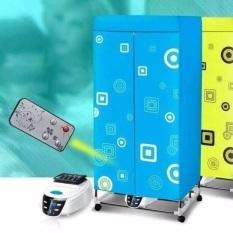 Máy sấy quần áo Samsung khung inox cao cấp, Tủ sấy quần áo Samsung 2 tầng có điều khiển từ xa, 15kg sấy