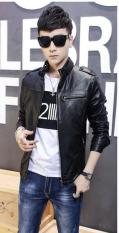 Áo Khoác Da Nam Black Leather Cao Cấp – BN21 (ZARA2000)