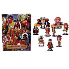 Combo Bộ 9 Mô Hình One Piece – Team Luffy Đủ 09 Nhân Vật (Có Hộp)