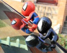 Mô hình Người nhện đồ chơi gắn đuôi xe -Đồ chơi trang trí Người Nhện spider man Gắn Vào Đuôi Xe Máy, Kính Ô tô, biển số xe, vô lăng, bàn học….. Cá tính, dễ thương Món quà nhỏ cho các bé yêu Spider Man – Sản phẩm bảo hành 1 đổi 1.